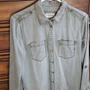 Express button-up shirt